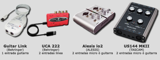 Varios Interfaces USB